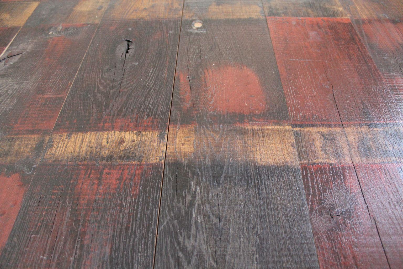Vieux plancher de wagon for Peinture plancher