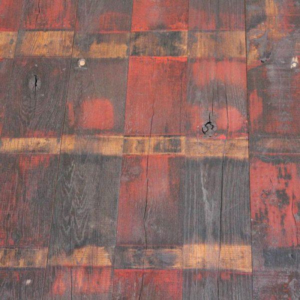 Palncher wagon avec peinture rouge