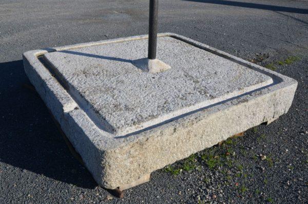 dalle de pressoir ancien en granit