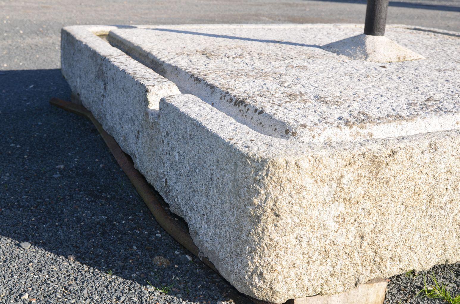 Dalle De Pressoir En Granit