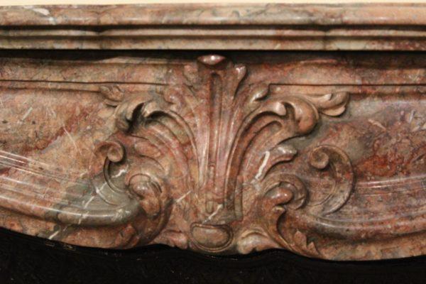 Cheminée Ancienne en Marbre Style Régence