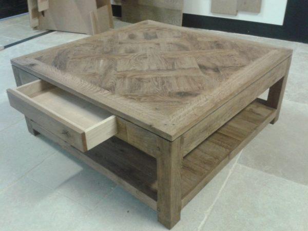 Table parquet Versailles