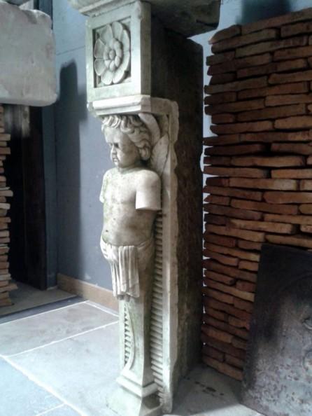 jambage en pierre ch rubins sculpt s pierre calcaire bca mat riaux. Black Bedroom Furniture Sets. Home Design Ideas