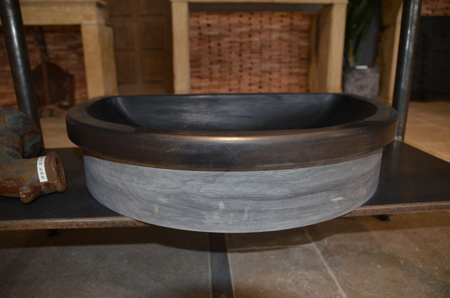 vasque en ardoise pierre naturelle bca mat233riaux anciens