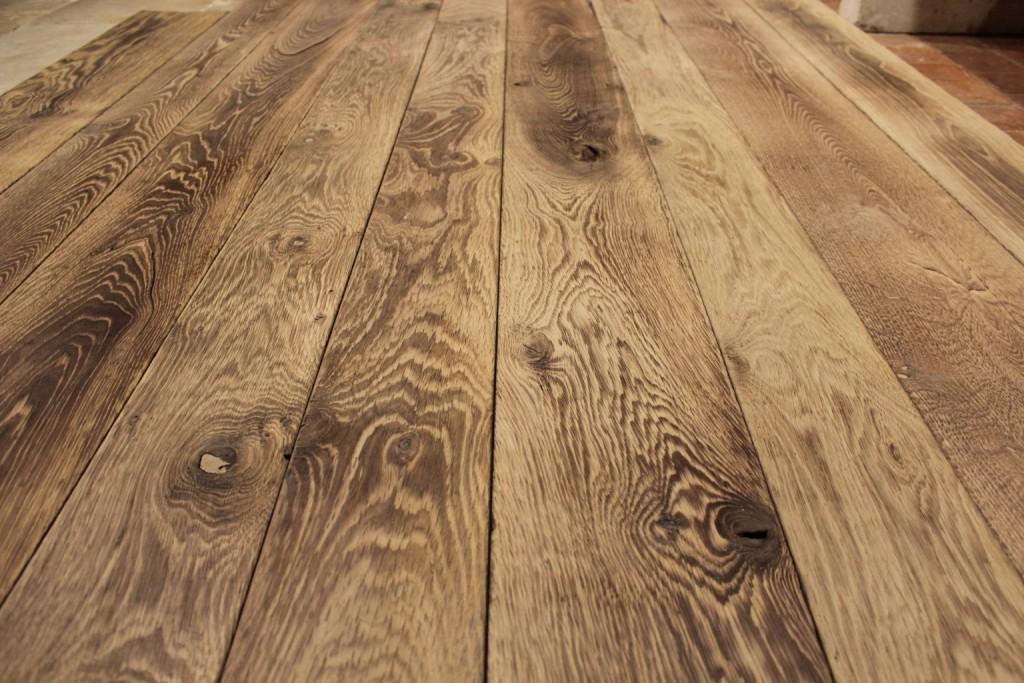 plancher havane brul massif et contrecoll bca mat riaux anciens. Black Bedroom Furniture Sets. Home Design Ideas