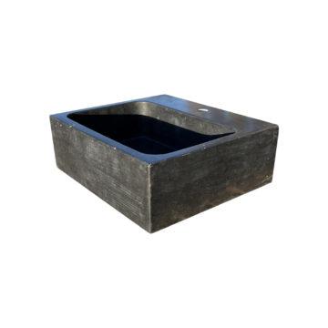 vasque rectangulaire en pierre