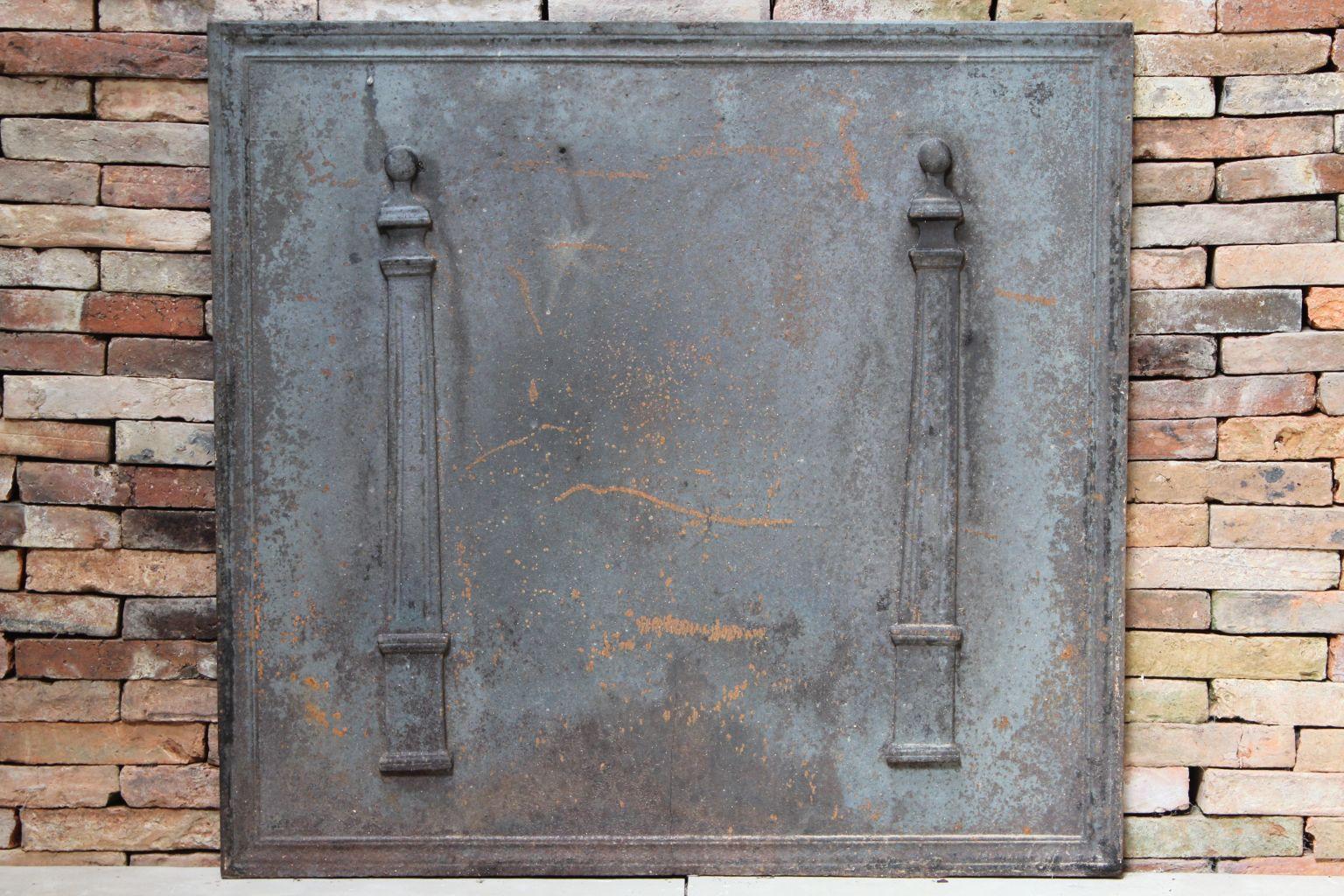 Plaque de chemin e ancienne for Nettoyer plaque en fonte