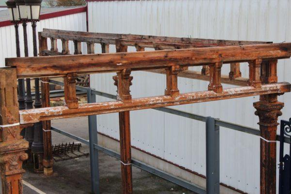 linteau ancien en bois