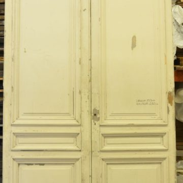 Porte intérieur ancienne en chêne