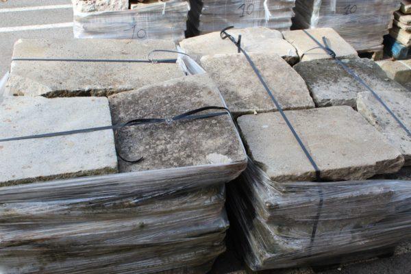 dalles granit anciennes opus romain Réf.201543