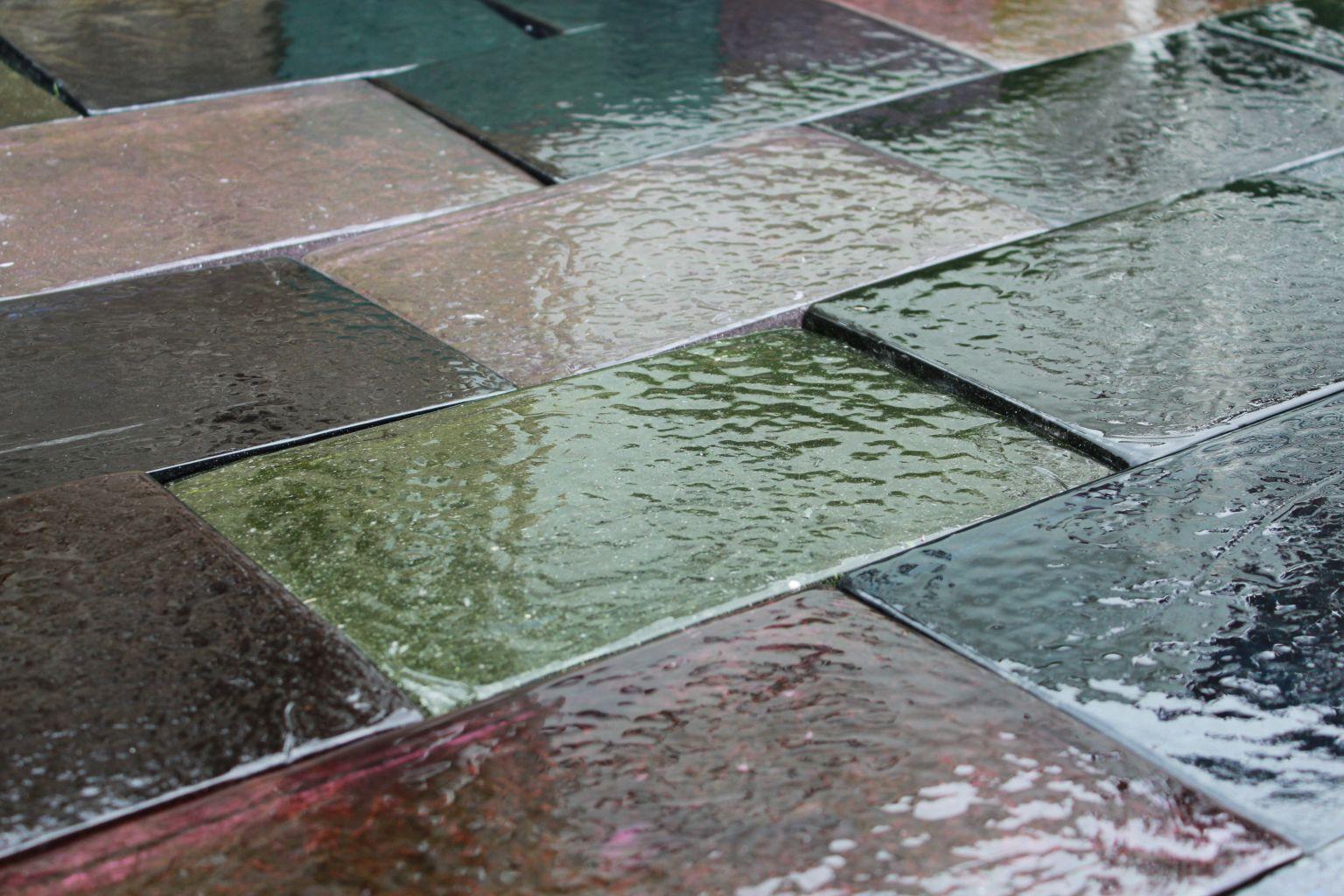 dalle de verre ext rieur multicolore bca mat riaux anciens. Black Bedroom Furniture Sets. Home Design Ideas