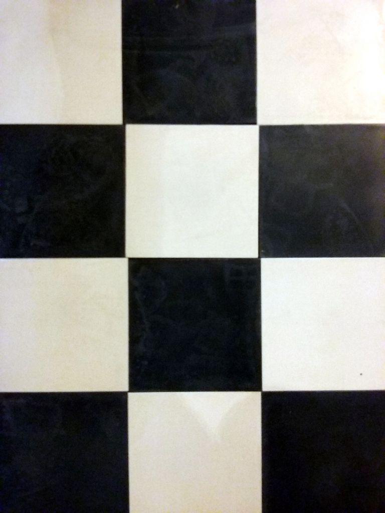 carreaux de ciments damier noir et blanc bca mat riaux anciens. Black Bedroom Furniture Sets. Home Design Ideas