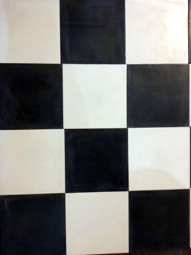 Damier noir et blanc - Carreau ciment noir et blanc ...
