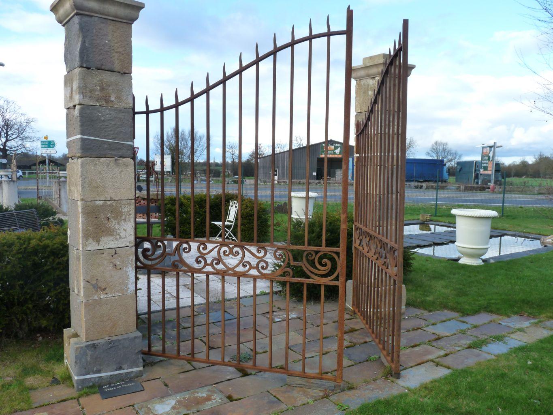 Portail en fer forg for Petit portail en fer
