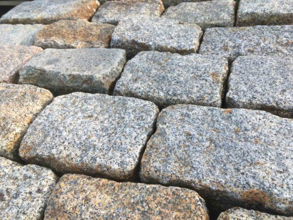 pavé en granit lot d'ancien pavé