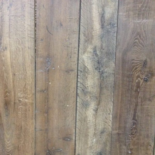plancher ancien en chêne
