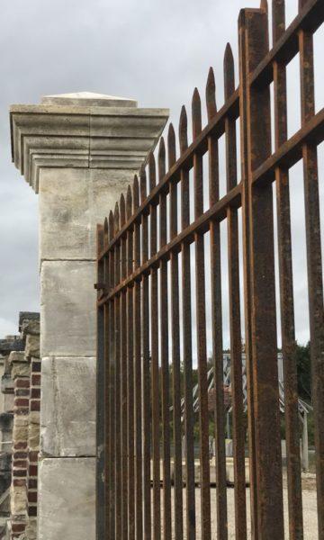 portail lourd en fer