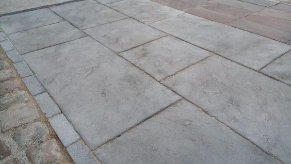 Dallage zahra gris pierre naturelle