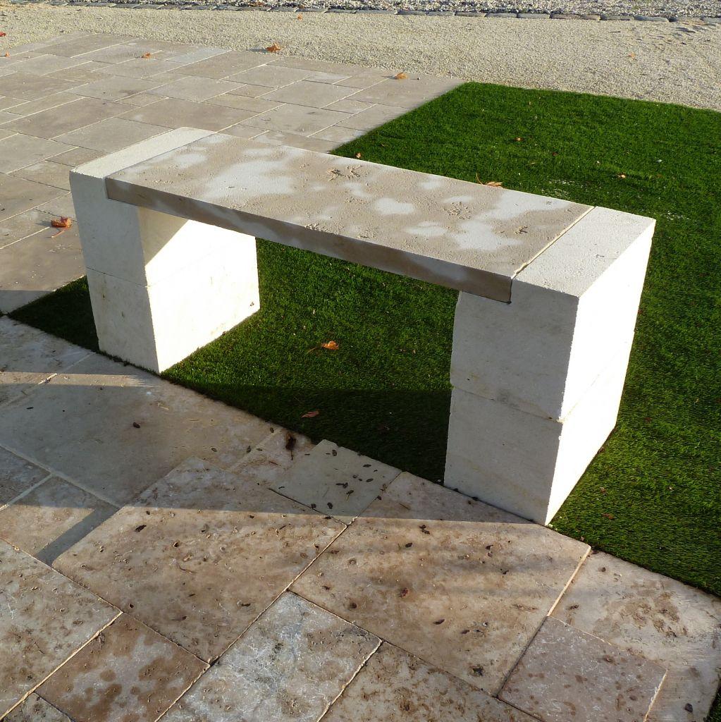 Banc En Pierre Ancien dedans banc en pierre naturelle - longueur 125 cm   bca matériaux anciens