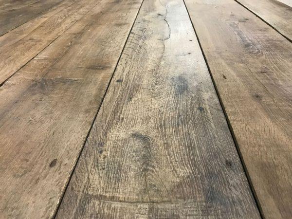 Plancher ancien ciré vieux chêne
