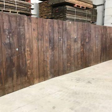 Paravent en bois ancien