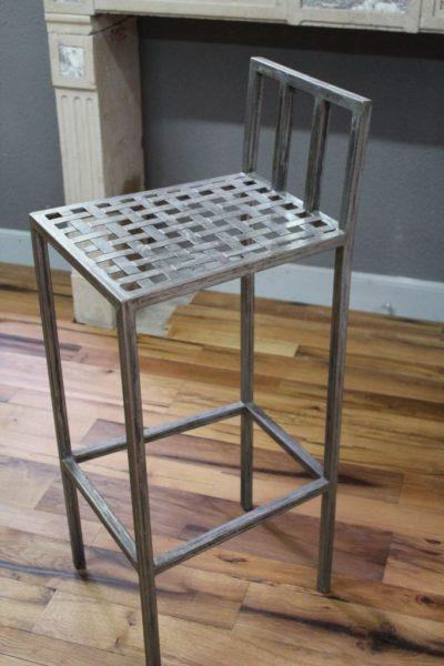 Chaise haute de Bar en Fer, hauteur 95 cm