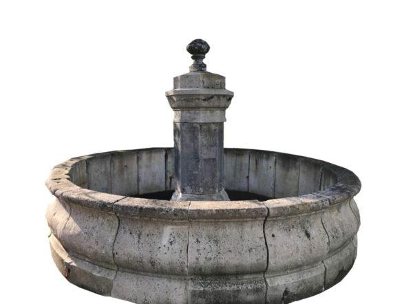 bassin ancien en pierre de bourgogne