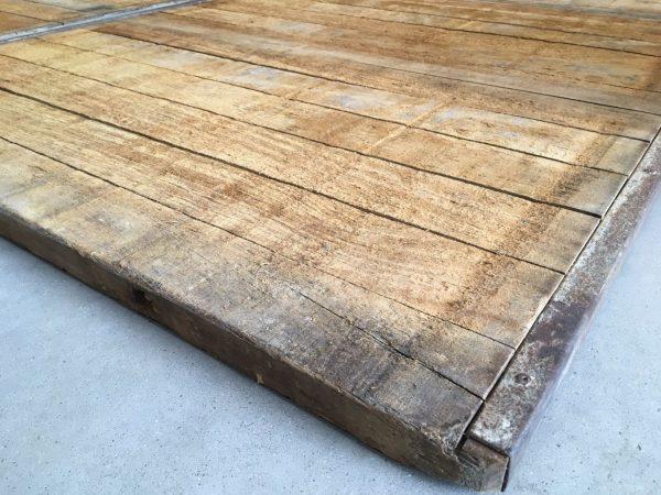 banches en bois pour terrasse