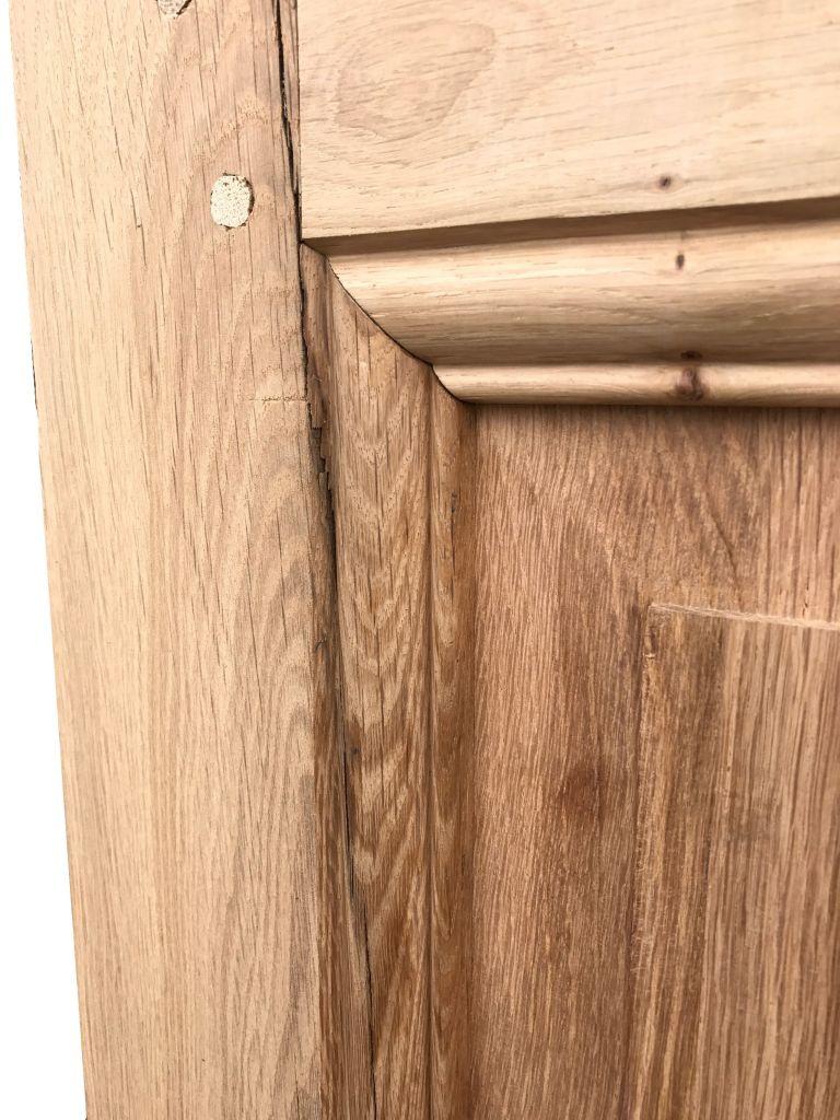 Porte int rieure bois ancienne porte ancienne sur mesure for Taille porte interieur