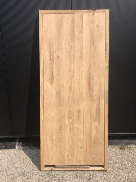 porte ancienne en plancher wagon sur mesure