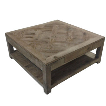 table basse parquet versailles
