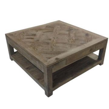 table basse parquet versailles