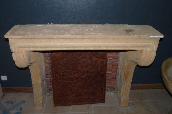 manteau de cheminée ancienne
