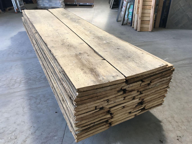 Plancher ancien large en sapin paisseur 30 mm bca - Porte interieur epaisseur 30 mm ...