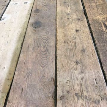 Sol en plancher ancien