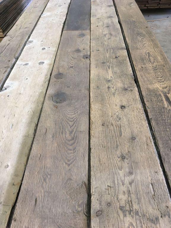plancher ancien en sapin gris patine naturelle bca mat riaux anciens. Black Bedroom Furniture Sets. Home Design Ideas