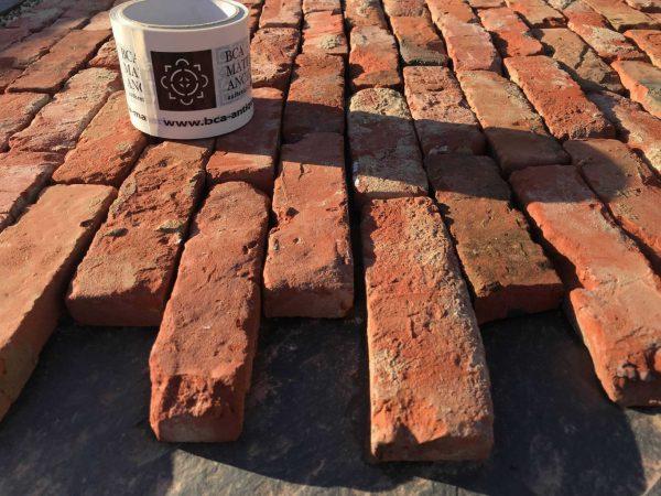 brique rouge de récupération de france