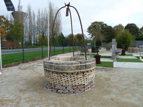 margelle ancienne de puits