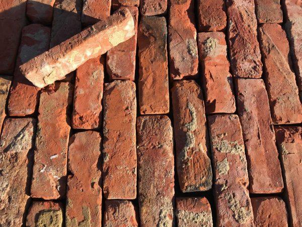 parement de brique de récupération