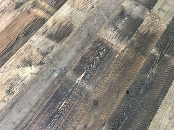 plancher ancien de wagon