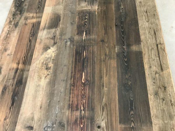plancher de fond de wagon sapin au style ancien