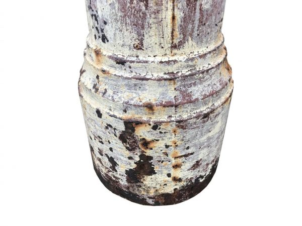 base de poteau en fonte ancien