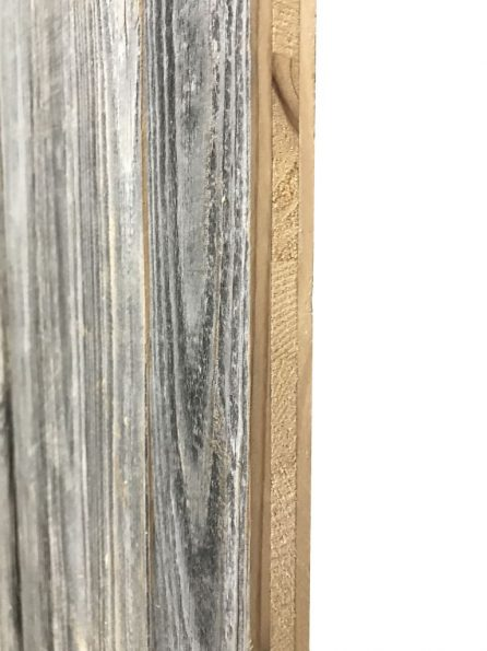 Panneau 3 plis vieux sapin gris vieux bois bca - Panneau 3 plis ...