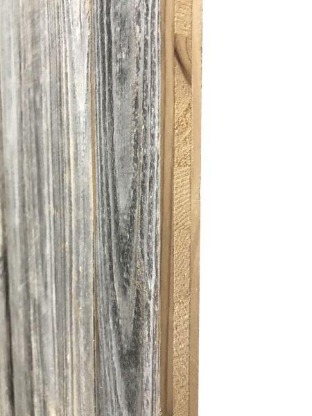 flanc de panneau en vieux bois de sapin