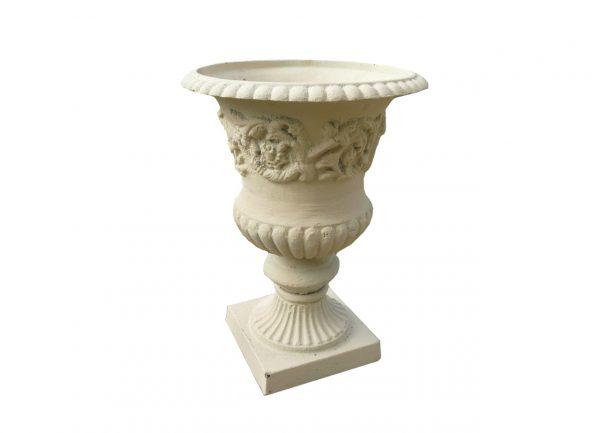 vase de jardin en fonte