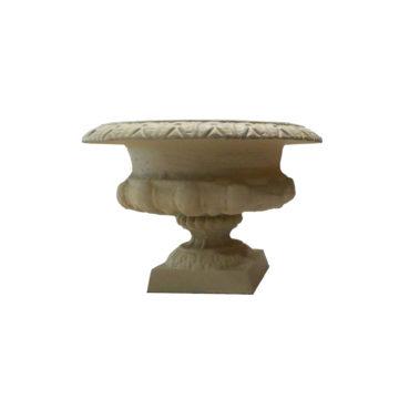 vase m dicis fonte vase m dicis en fonte ancien bca mat riaux. Black Bedroom Furniture Sets. Home Design Ideas