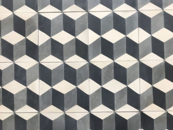 carreaux ciment cube 3d