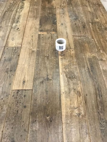 lame de plancher ancien en chêne