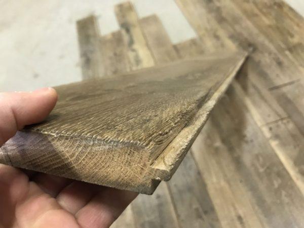 patine de plancher chêne
