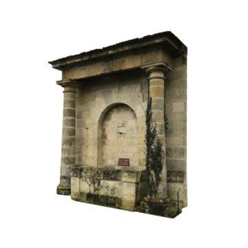fontaine ancienne en pierre